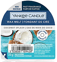 Düfte, Parfümerie und Kosmetik Duftwachs Coconut Splash - Yankee Candle Wax Melt Coconut Splash