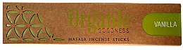 Düfte, Parfümerie und Kosmetik Duftstäbchen Vanille - Song Of India Organic Goodness Vanilla