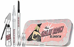 Düfte, Parfümerie und Kosmetik Augenbrauen Set (Augenbrauengel 3g + Augenbrauenstift 0,17g + Mini-Augenbrauenstift 0,04g) - Benefit The Great Brow Basics