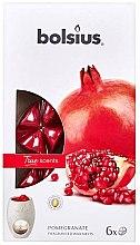 Düfte, Parfümerie und Kosmetik Duftwachs Granatapfel - Bolsius True Scents Pomegranate