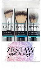 Düfte, Parfümerie und Kosmetik Make-up Pinselset №1 3-tlg. - Neess
