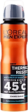 "Düfte, Parfümerie und Kosmetik Anti-Perspirant Deodorant Spray für Männer ""Thermic Resist"" 48H - L'Oreal Paris Men Expert Thermic Resist 48H"