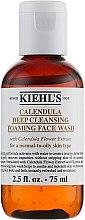 Düfte, Parfümerie und Kosmetik Beruhigender Reinigungsschaum für das Gesicht mit Ringelblumenextrakt - Kiehl`s Calendula Deep Cleansing Foaming Face Wash