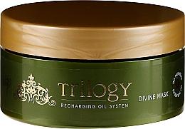 Düfte, Parfümerie und Kosmetik Nährende Haarmaske mit Olivenöl - Vitality's Trilogy Divine Mask
