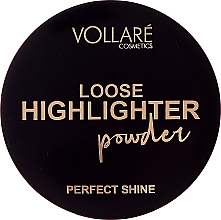 Düfte, Parfümerie und Kosmetik Loser Highlighter - Vollare Loose Highlighter Powder Perfect Shine