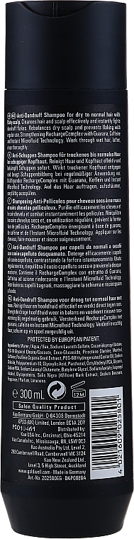 "Anti-Schuppen Shampoo ""Repair & Care"" - Goldwell Dualsenses For Men Anti-Dandruff Shampoo — Bild N2"