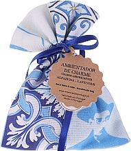 Handgemachtes Duftsäckchen mit Seife weiß-blau Lavendel - Essencias De Portugal Tradition Charm Air Freshener — Bild N1