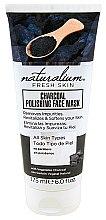 Düfte, Parfümerie und Kosmetik Revitalisierende Gesichtsmaske mit Aktivkohle - Naturalium Fresh Skin Charcoal Polishing Face Mask
