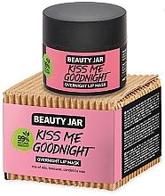 Düfte, Parfümerie und Kosmetik Lippenmaske für die Nacht - Beauty Jar Kiss Me Goodnight Overnight Lip Mask
