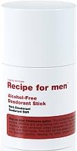 Düfte, Parfümerie und Kosmetik Deostick - Recipe For Men Alcohol Free Deodorant Stick