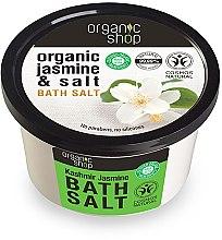 Düfte, Parfümerie und Kosmetik Badesalz mit Bio Jasmin und Meersalz - Organic Shop Baths Salt Organic Jasmine & Salt