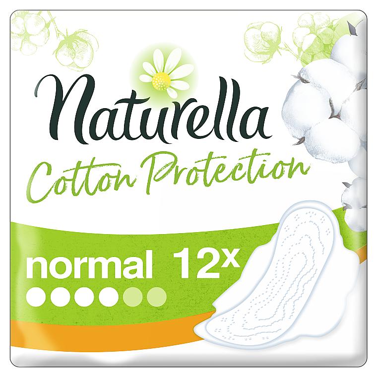 Damenbinden mit Flügeln 12 St. - Naturella Cotton Protection Ultra Normal