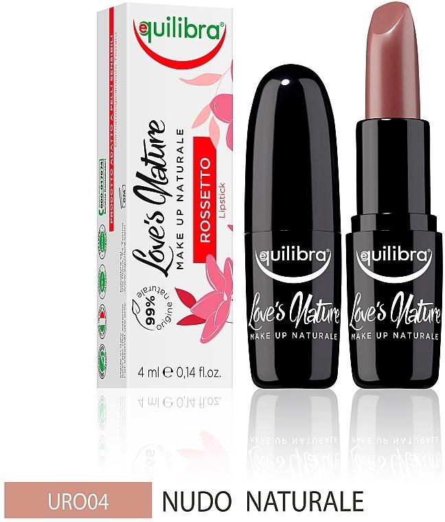 Lippenstift - Equilibra Love's Nature Lipstick