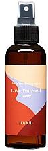 Düfte, Parfümerie und Kosmetik Feuchtigkeitsspendendes Körperspray mit Agave- und Kurkuma-Extrakt - Lovbod Body Treatment Spray Love Yourself Today
