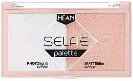 Düfte, Parfümerie und Kosmetik Fixierpuder-Palette - Hean Selfie Palette
