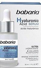 Düfte, Parfümerie und Kosmetik Feuchtigkeitsspendendes Gesichtsserum mit Hyaluronsäure - Babaria Hyaluronic Acid Serum