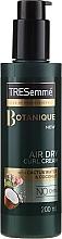 Düfte, Parfümerie und Kosmetik Trockene Lockencreme mit Kaktuswasser und Kokosnuss - Tresemme Botanique Air Dry Curl Cream