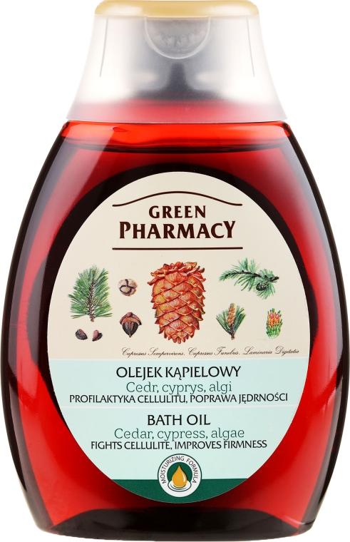 Badeöl mit Zeder und Zypresse - Green Pharmacy — Bild N1