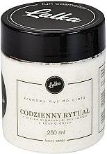 Düfte, Parfümerie und Kosmetik Creme-Mousse für den Körper mit Arganöl und Arabica-Kaffee - Lalka