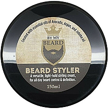 Düfte, Parfümerie und Kosmetik Pflegendes Bartstyling mit Avocado-, Argan- und Jojobaöl - By My Beard Beard Styler Light Hold Styling Cream