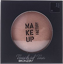 Düfte, Parfümerie und Kosmetik Gesichtsbronzer - Make up Factory Touch Of Tan Bronzer