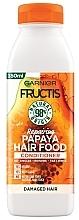 Düfte, Parfümerie und Kosmetik Revitalisierender Conditioner mit Papaya - Garnier Fructis Repairing Papaya Hair Food Conditioner