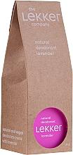 Düfte, Parfümerie und Kosmetik Natürliche Deodorant-Creme mit Lavendel - The Lekker Company Natural Lavender Deodorant