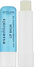 Düfte, Parfümerie und Kosmetik Pflegender Lippenbalsam mit Vitamin E und Rapsöl - Avon Essentials Lip Balm With Vitamin E And Camola Oil