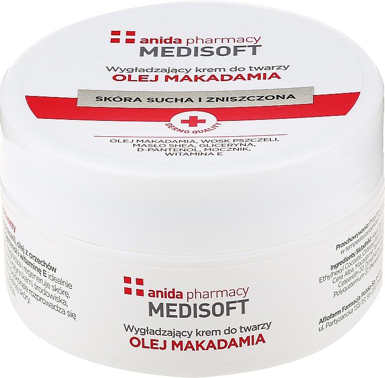 Glättende Gesichtscreme mit Magadamia - Anida Medisoft