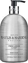 Düfte, Parfümerie und Kosmetik Flüssige Handseife Fresh Lemon & Mint - Baylis & Harding Elements Lemon and Mint Hand Wash