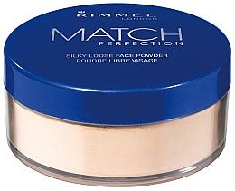 Düfte, Parfümerie und Kosmetik Loser Gesichtspuder - Rimmel Match Perfection Silky Loose Powder