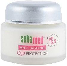 Düfte, Parfümerie und Kosmetik Anti-Aging Gesichtscreme - Sebamed Anti-Ageing Q10 Protection Cream