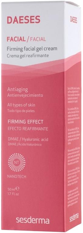 Straffendes Gesichtscreme-Gel mit Hyaluronsäure - SesDerma Laboratories Daeses Face Firming Cream Gel — Bild N4