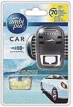 Düfte, Parfümerie und Kosmetik Lufterfrischer-Set Wasser - Ambi Pur (Auto-Lufterfrischer 1 St. + Refill 7ml)