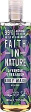Düfte, Parfümerie und Kosmetik Pflegendes Duschgel für alle Hauttypen - Faith in Nature Lavender & Geranium Body Wash