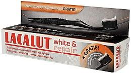 Düfte, Parfümerie und Kosmetik Zahnpflegeset - Lacalut White & Repair (Zahnpasta 75ml + Zahnbürste 1 St.)