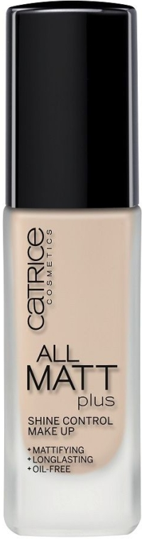 Langlebige matte Foundation - Catrice All Matt Plus Shine Control Make Up