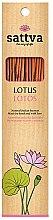 Düfte, Parfümerie und Kosmetik Duftstäbchen Lotosblume - Sattva Lotus