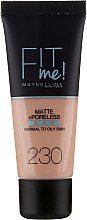 Düfte, Parfümerie und Kosmetik Foundation - Maybelline Fit Me Matte Poreless Foundation