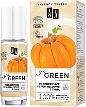 Regenerierendes Ölserum für das Gesicht mit Kürbis - AA Go Green — Bild N1