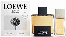 Düfte, Parfümerie und Kosmetik Loewe Solo Loewe - Duftset (Eau de Toilette 125ml + Eau de Toilette 30ml)