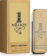 Düfte, Parfümerie und Kosmetik Paco Rabanne 1 Million - Eau de Toilette (Mini)