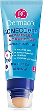 Düfte, Parfümerie und Kosmetik Cremige Foundation mit Applikator - Dermacol Acnecover Make-Up and Corrector