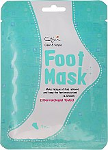 Düfte, Parfümerie und Kosmetik Feuchtigkeitsspendende und glättende Fußmaske in Socken - Cettua Moisturizing Foot Mask