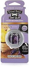 """Düfte, Parfümerie und Kosmetik Yankee Candle Smart Scent Vent Clip Lemon Lavender - Flüssiger Auto-Lufterfrischer """"Zitrone & Lavendel"""""""