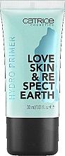 Düfte, Parfümerie und Kosmetik Feuchtigkeitsspendender Gesichtsprimer - Catrice Love Skin & Respect Earth Hydro Primer