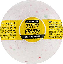 Düfte, Parfümerie und Kosmetik Badebombe mit Vitamin E - Beauty Jar Tutty Fruity