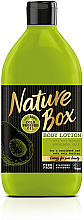Düfte, Parfümerie und Kosmetik Körperlotion mit kaltgepresstem Avocadoöl - Nature Box Avocado Oil