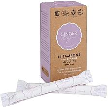 Düfte, Parfümerie und Kosmetik Tampons mit Applikator Normal 14 St. - Ginger Organic