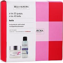 Düfte, Parfümerie und Kosmetik Gesichtspflegeset - Bella Aurora Skincare Set (Gesichtscreme 50ml + Mizellenwasser 100ml)